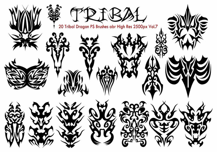 Tribal PS Pinceles Vol.7
