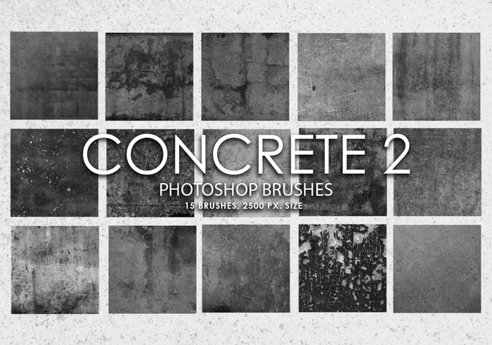 Free Concrete Photoshop Brushes 2