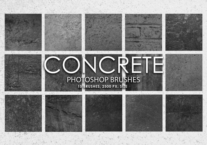 Free Concrete Photoshop Brushes