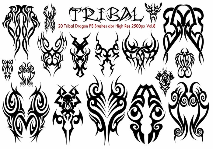 Tribal PS Borstels Vol.8