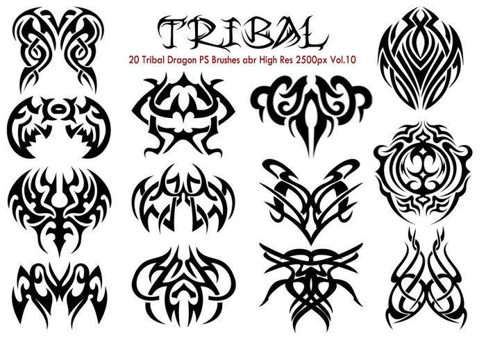 20 Tribal PS Penslar efter Vol.10