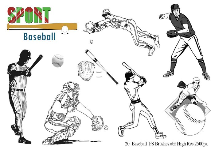 Baseball Ps Borstar abr