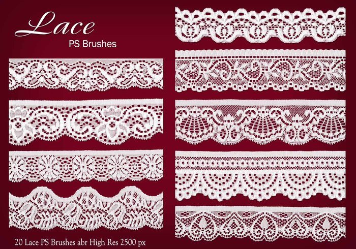 20 Lace PS Pensels abr