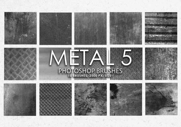 Pinceles de Metal Photoshop gratis 5