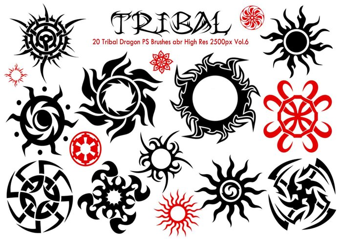 Tribal PS Bürsten Vol.6