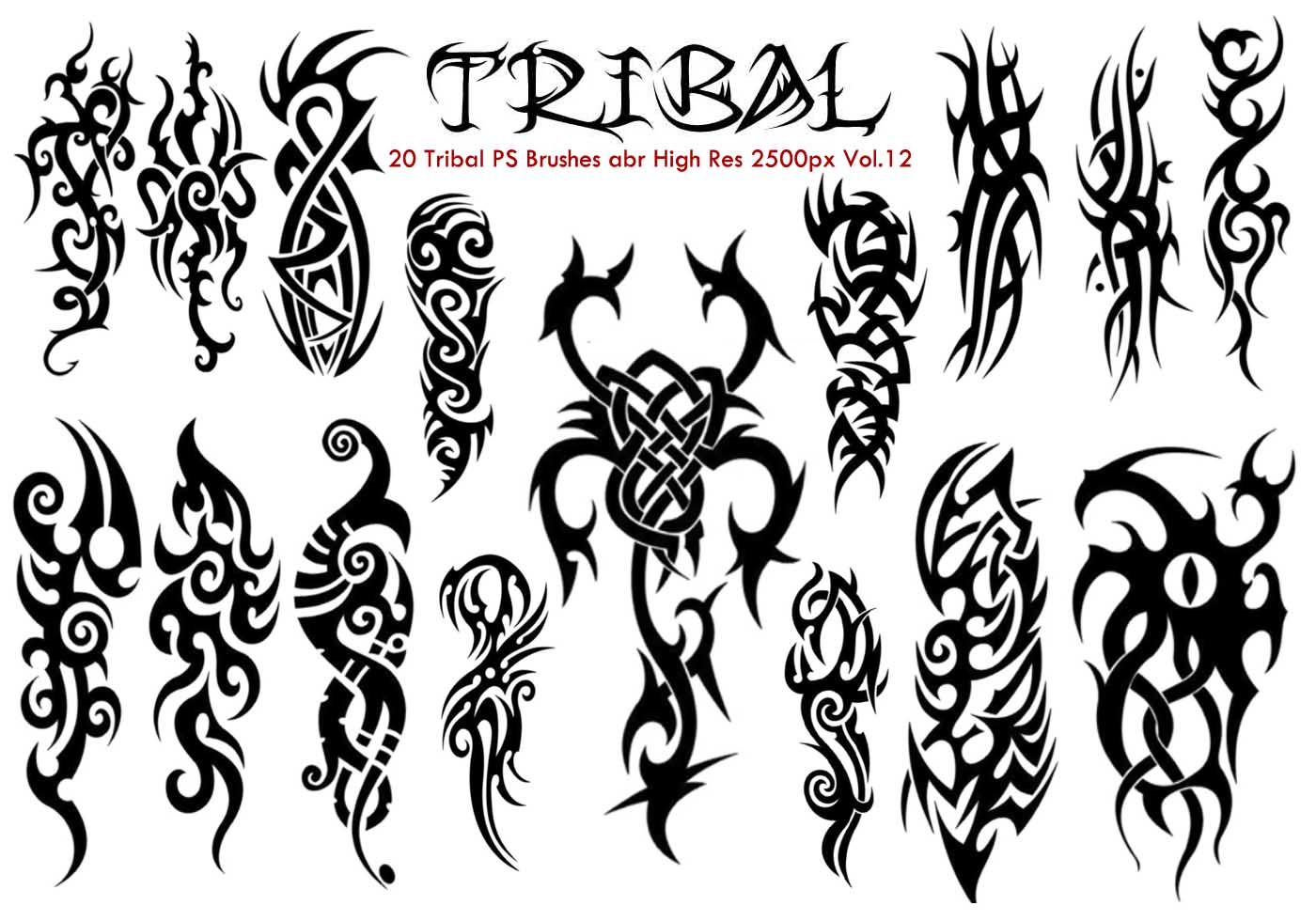 tribal ps brushes free photoshop brushes at brusheezy. Black Bedroom Furniture Sets. Home Design Ideas