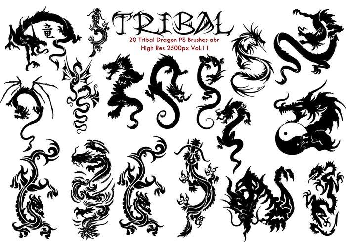 Tribal PS Brushes Vol.11