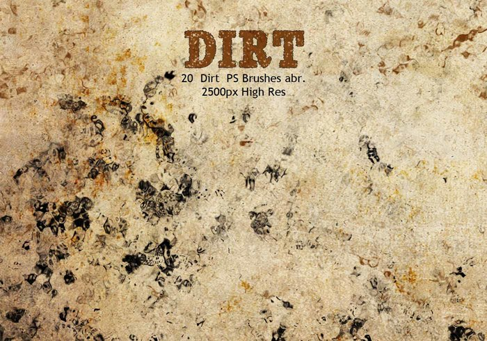 Dirt PS Brushes abr