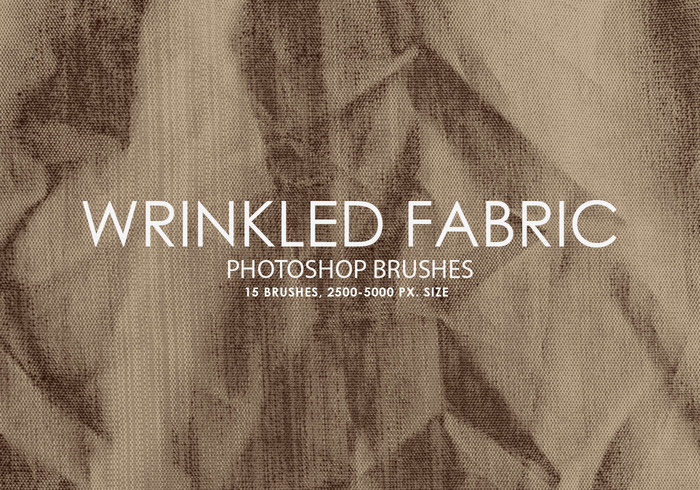 Free Wrinkled Fabric Photoshop Bürsten