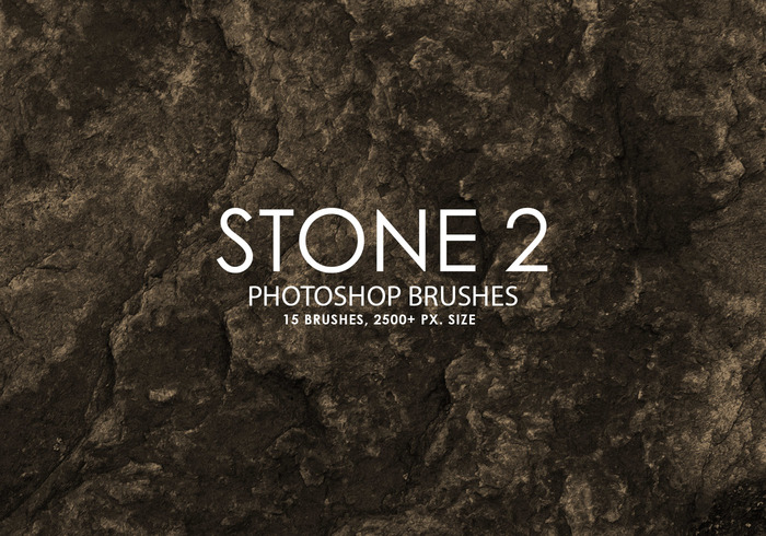 Free Stone Photoshop Brushes 2