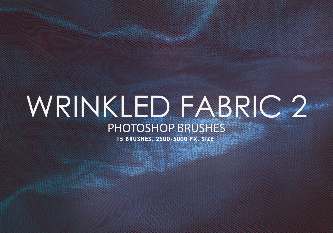 free wrinkled fabric photoshop brushes 2
