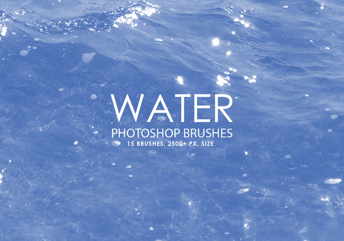 Free Water Photoshop Brushes