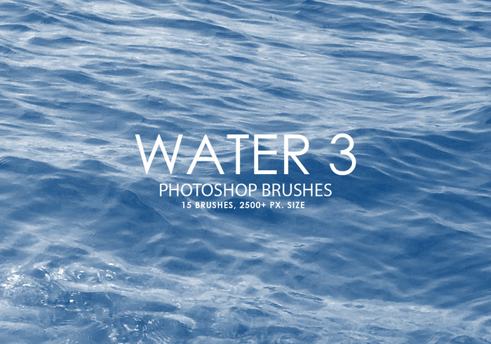 Free Water Photoshop Brushes 3