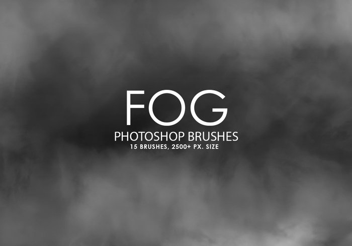 Libre Niebla Photoshop Brushes