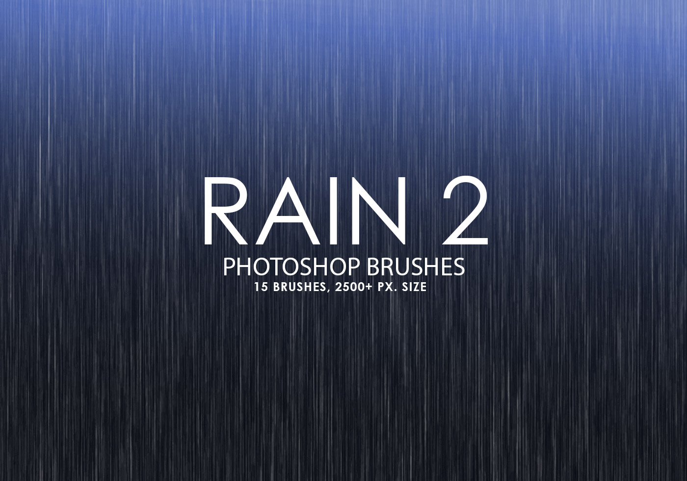 free rain photoshop brushes 2