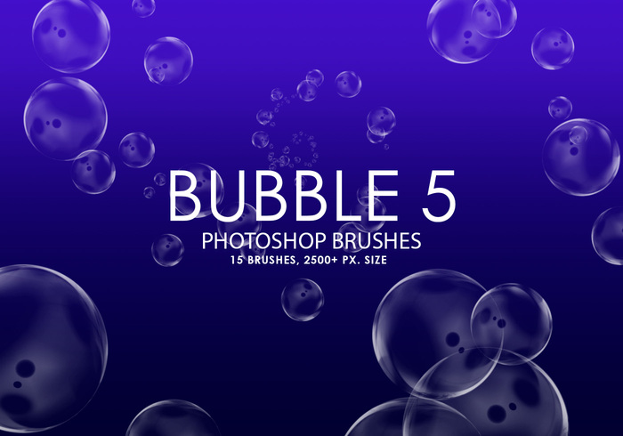 Free Bubble Photoshop Brushes 5
