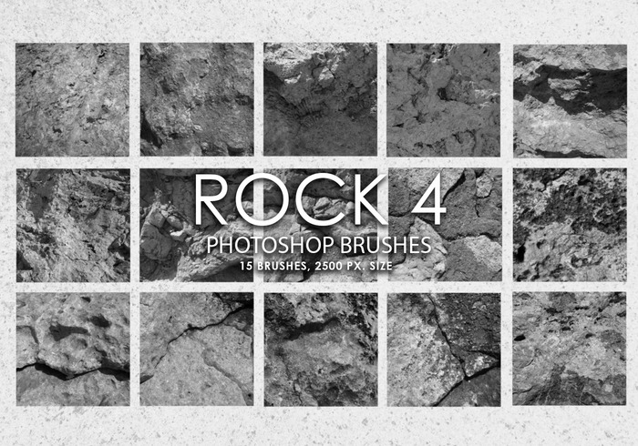 Free Rock Pinceles para Photoshop 4