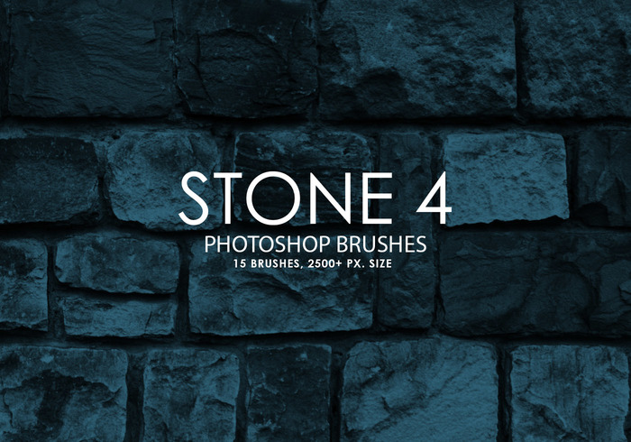 Free Stone Photoshop Brushes 4