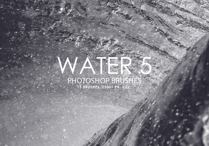 Gratis Water Photoshop Borstels 5