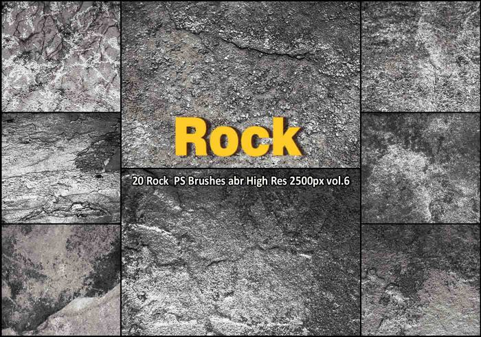 Rock Texture PS Brushes abr vol.6