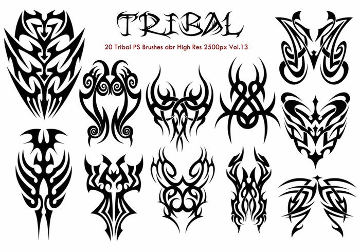 Tribal PS Brushes Vol.13