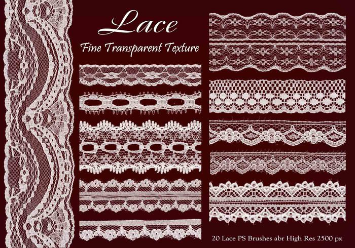 Lace PS Brushes abr vol 6