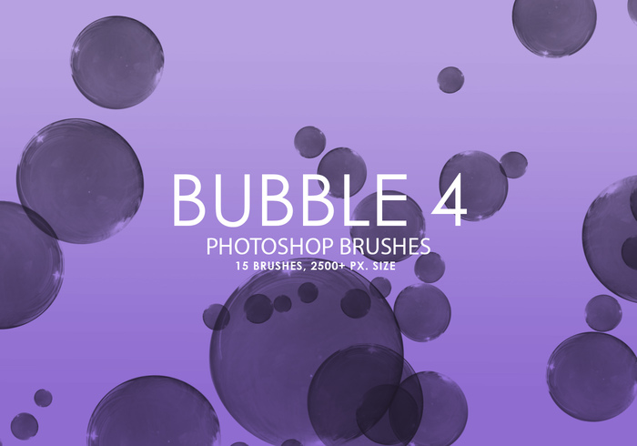 Free Bubble Photoshop Brushes 4