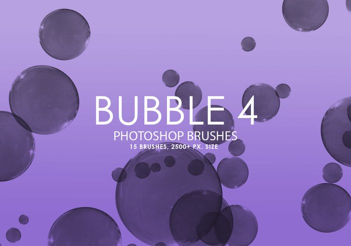 Gratis Bubble Photoshop Brushes 4