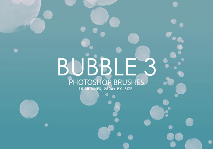 Gratis Bubble Photoshop Borstar 3