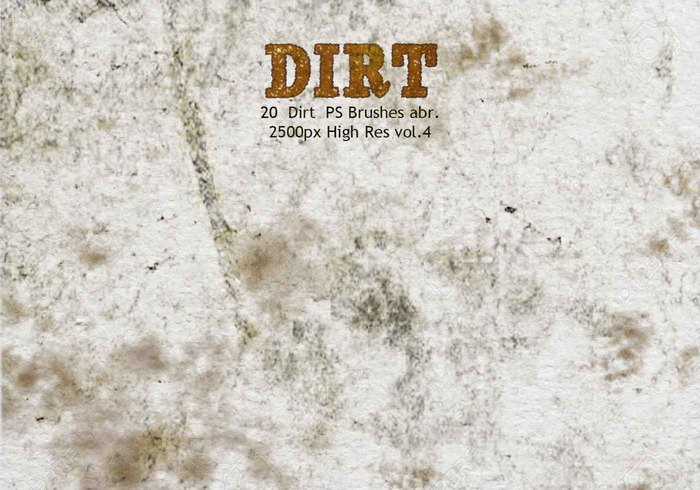 20 Dirt PS Brushes abr vol 4