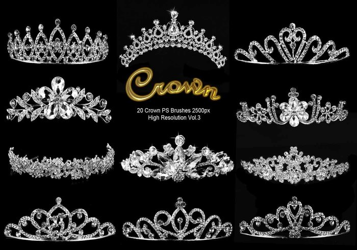 20 brosses de couronne Crown abr. Vol.3