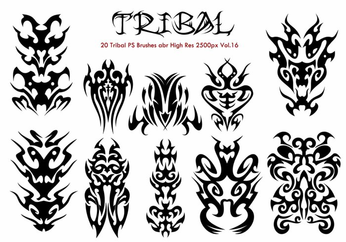 20 Tribal PS Bürsten Vol.16
