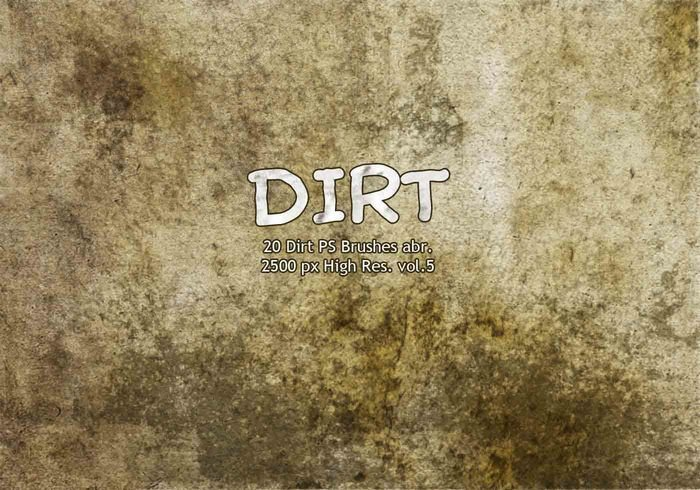 20 Dirt PS Brushes abr vol.5