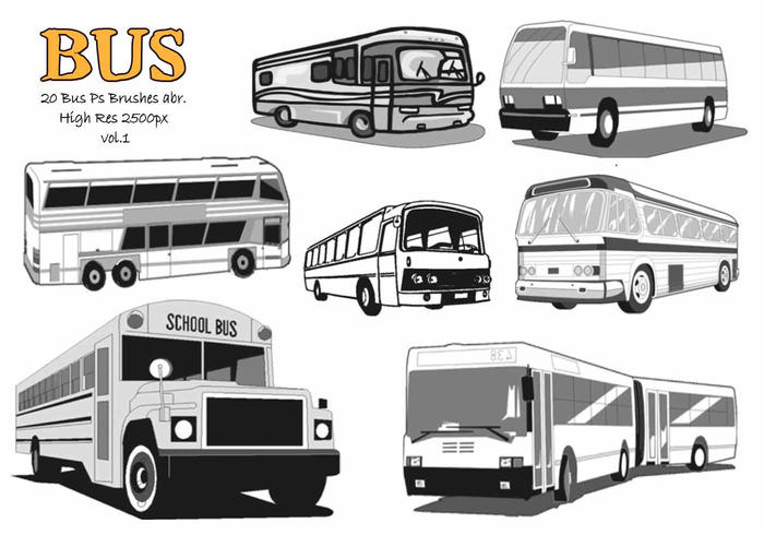 20 Bus Ps Brosses abr. Vol.1