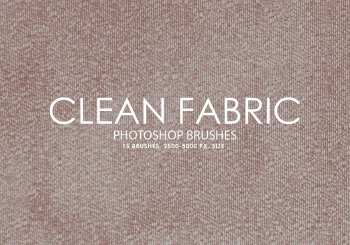 Free Clean Fabric Pinceles para Photoshop