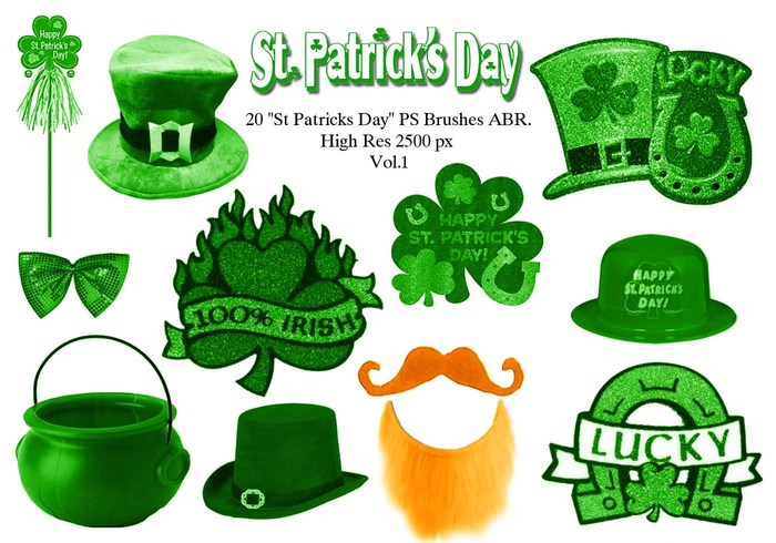 "20 ""St Patricks Day"" PS Pinceles abr.Vol.1"