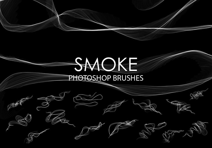 Free Abstract Smoke Photoshop Bürsten 2