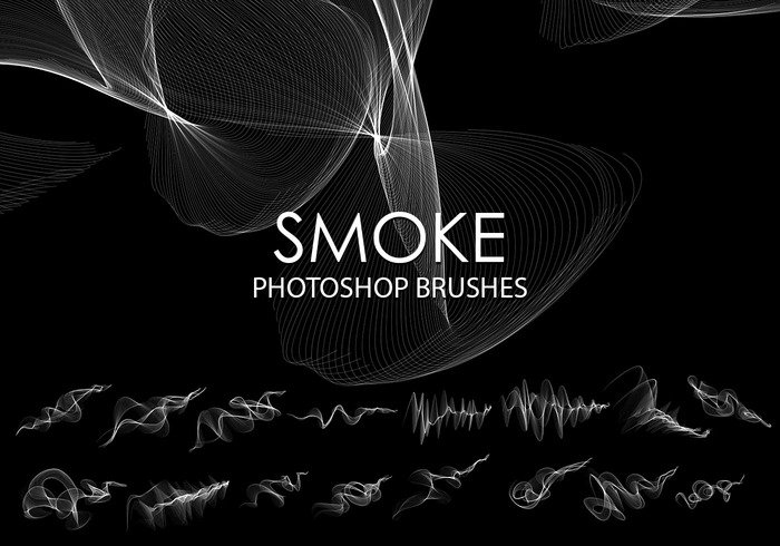 Free abstract smoke photoshop brush 5