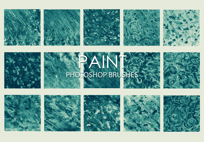 Free Dirty Paint Photoshop Brushes