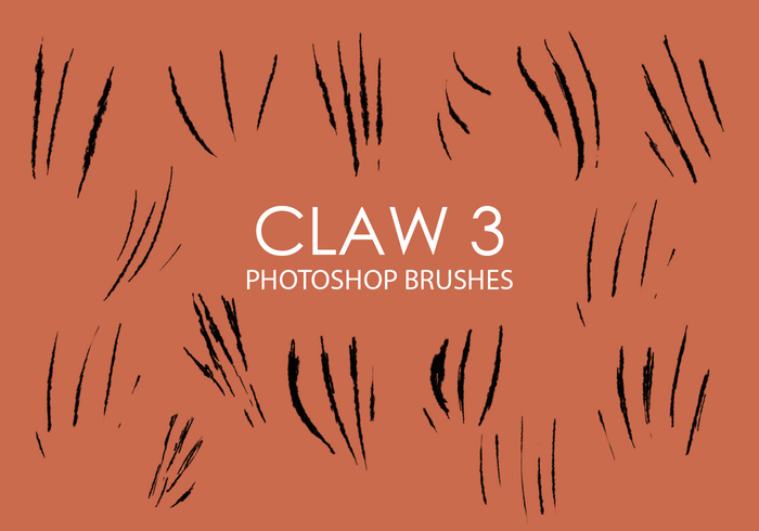 Free Claw Photoshop Brushes 3