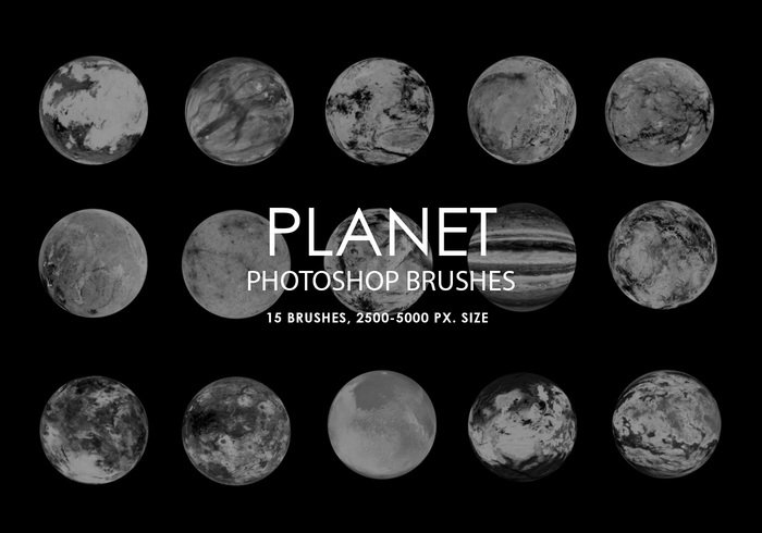 Free Abstract Planet Photoshop Bürsten