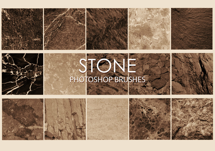 Free Stone Photoshop Brushes 6