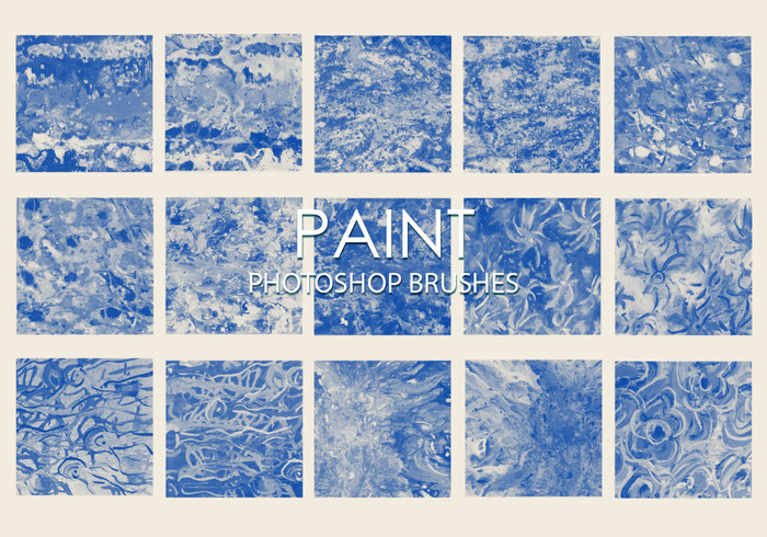 Gratis Dirty Paint Pinceles para Photoshop 3