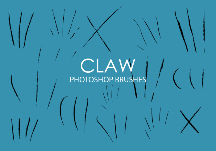 Pinceaux Free Free Claw Photoshop