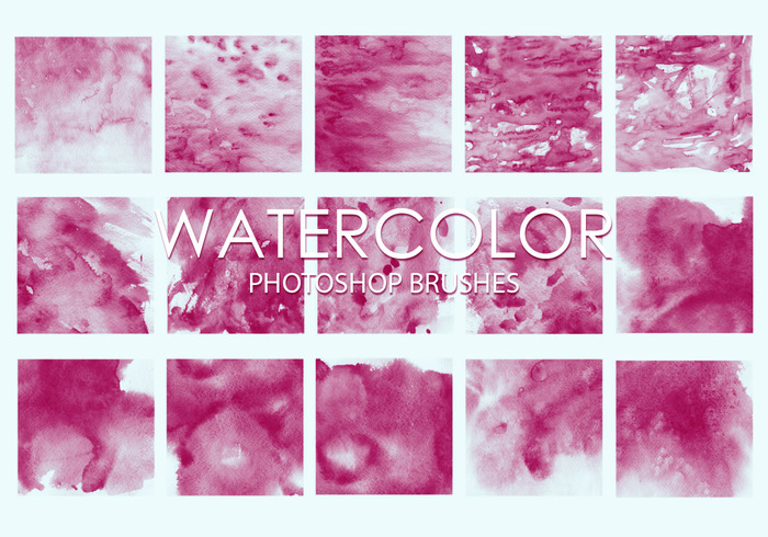 Gratis Watercolor Photoshop Borstels 4