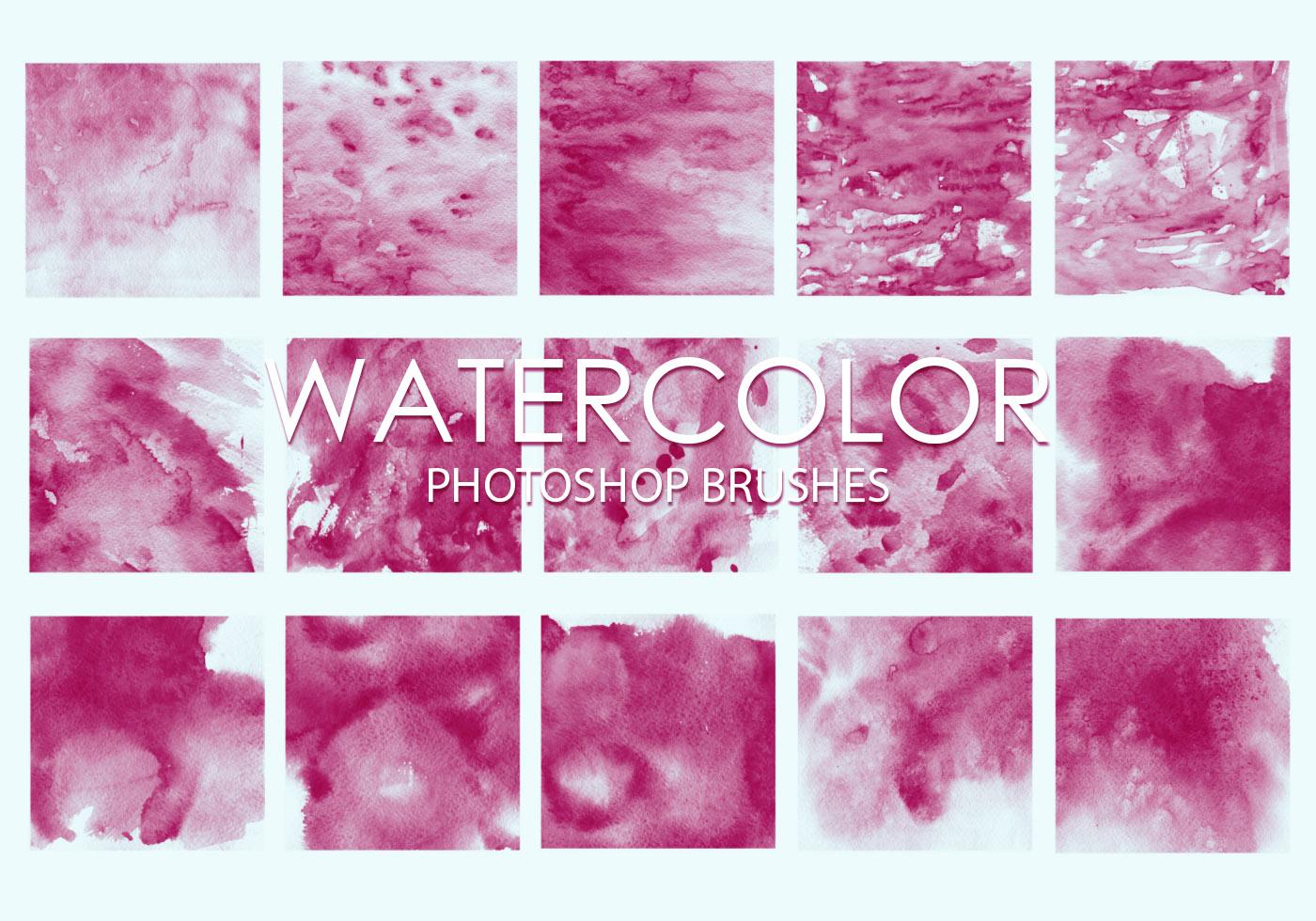 Free Hi-Res Watercolor Photoshop Brushes - Free Photoshop Brushes ...