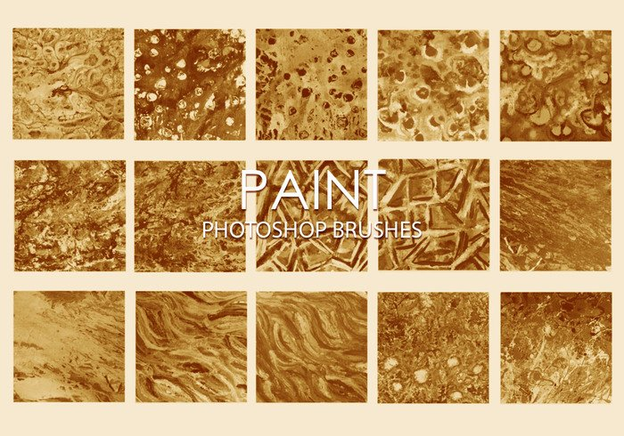 Gratis Dirty Paint Pinceles para Photoshop 6