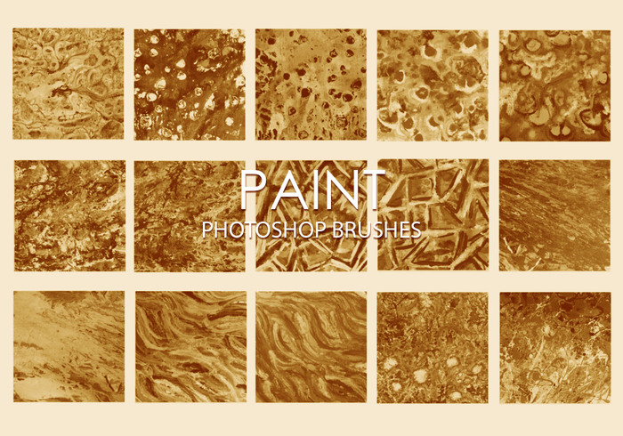 Free Dirty Paint Photoshop Brushes 6