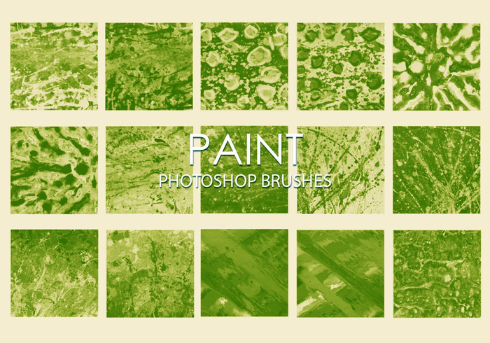 Gratis Dirty Paint Pinceles para Photoshop 5