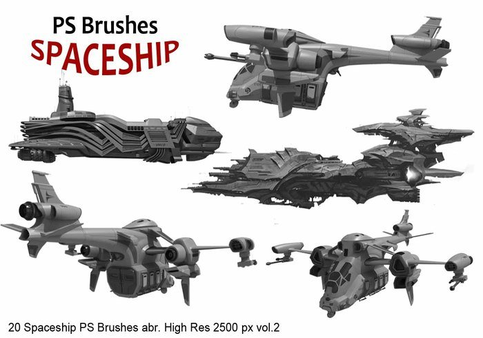 20 Brosses PS Spaceship abr. Vol.2